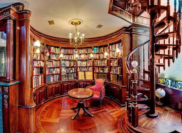 复古书房布置图大全