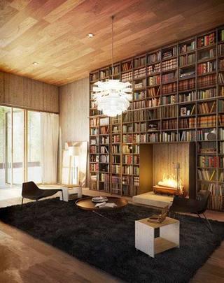 立体书柜设计平面图