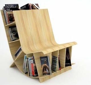 椅子书柜设计图片大全