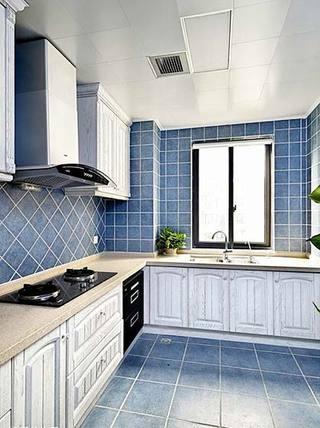 地中海厨房图片大全