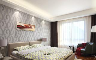 浪漫简洁美式主卧室装修图片