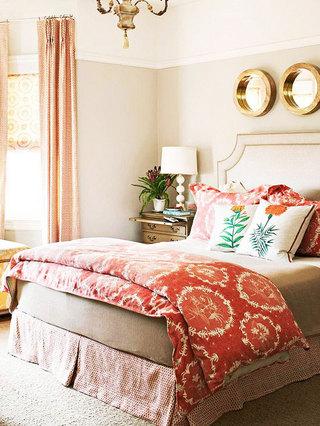 舒适布艺床图片