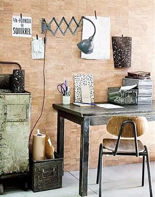 书房软木背景墙设计图