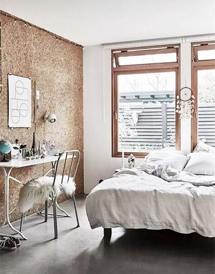 卧室书房软木背景墙装修