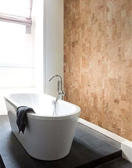 卫生间创意软木背景墙装修大全