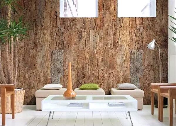 创意客厅软木背景墙效果图装修