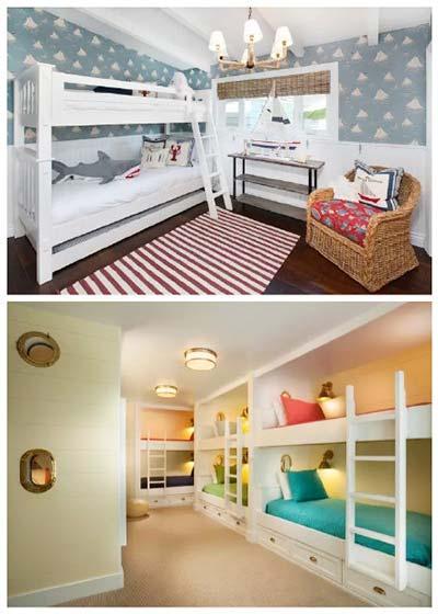 上下铺儿童房设计实景图-装修效果图案例 2017年装修效果图 齐家网装