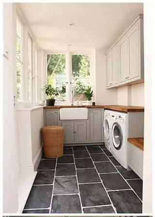 洗衣房设计效果图