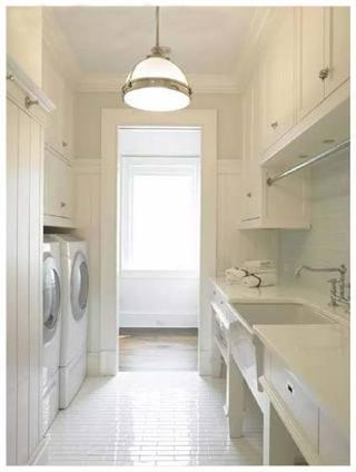 白色洗衣房图片大全