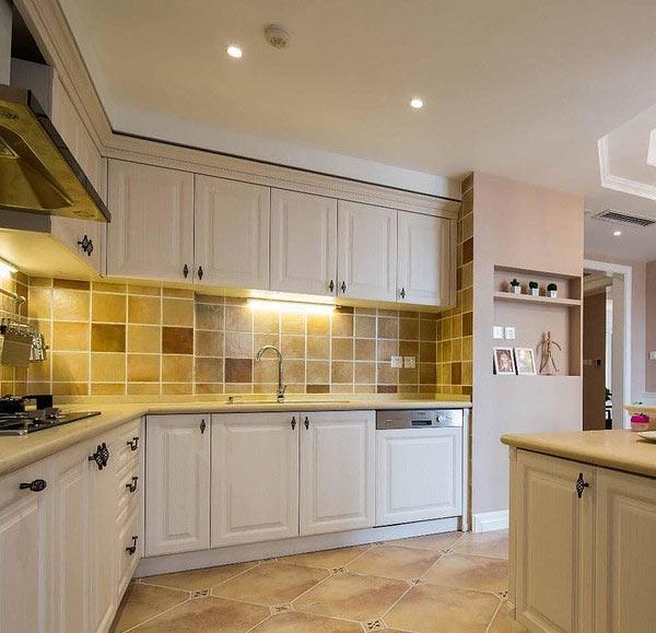 奢华现代美式厨房橱柜设计