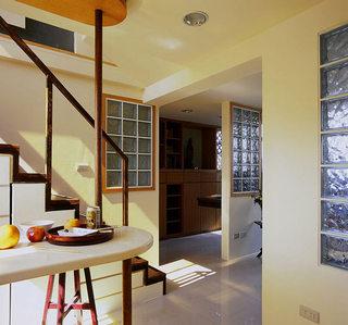 46平小复式楼楼梯空间设计装修