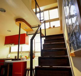 46平小复式楼厨房吊顶设计效果图