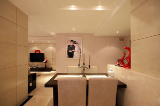 欧式风格公寓大气富裕型婚房平面图