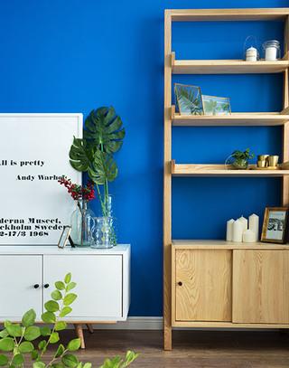 北欧风格三室两厅木质收纳柜图片