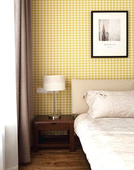 简约风格卧室背景墙装饰画