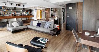 116平现代简约风格客厅设计效果图