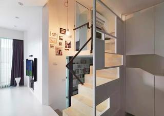 简约北欧风 LOFT创意楼梯设计
