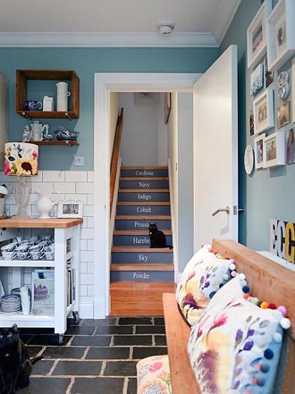 楼梯设计实景布置图