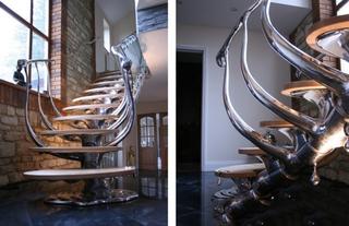 创意楼梯设计装修图片