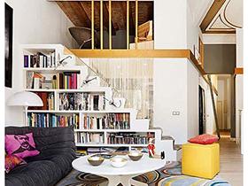 楼梯空间大改造 10个楼梯设计装修图片
