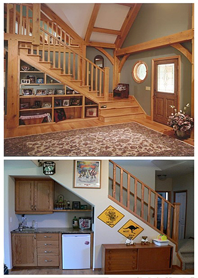 楼梯储物柜构造图