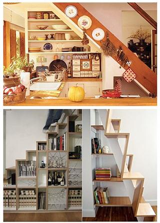 楼梯收纳小厨房设计大全