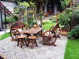 庭院桌椅设计布置图
