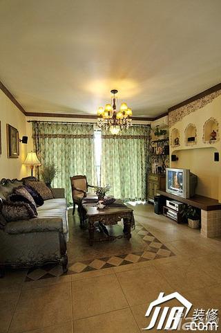 非空东南亚风格公寓家装图