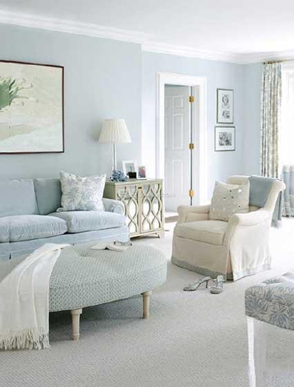 法式客厅装饰设计图片