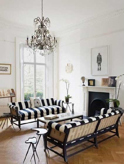 法式客厅设计实景图