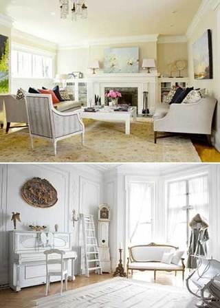 法式客厅设计实景图片