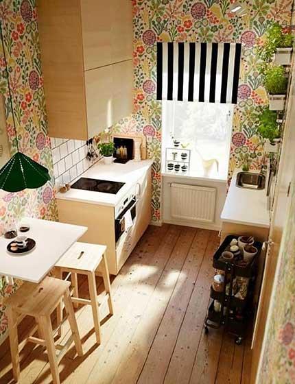 田园厨房设计布置图