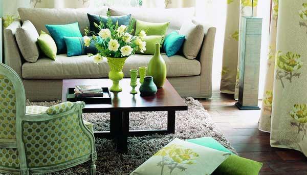 客厅植物背景设计图
