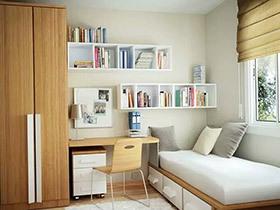 10个小户型卧室装修图片 房间再小也不怕
