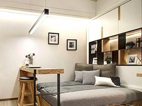 33平米单身公寓装修 小户型空间规划真高手