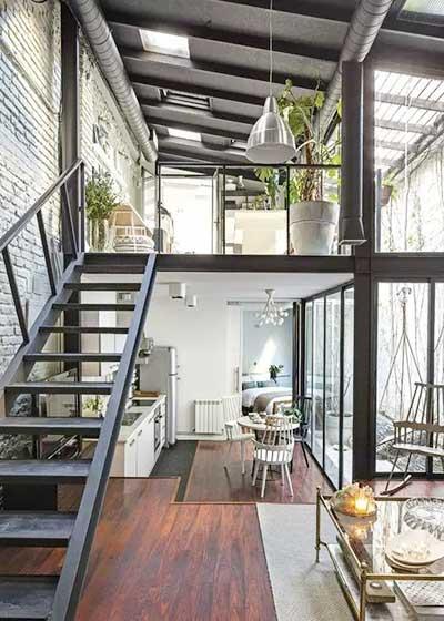 LOFT楼梯设计效果图