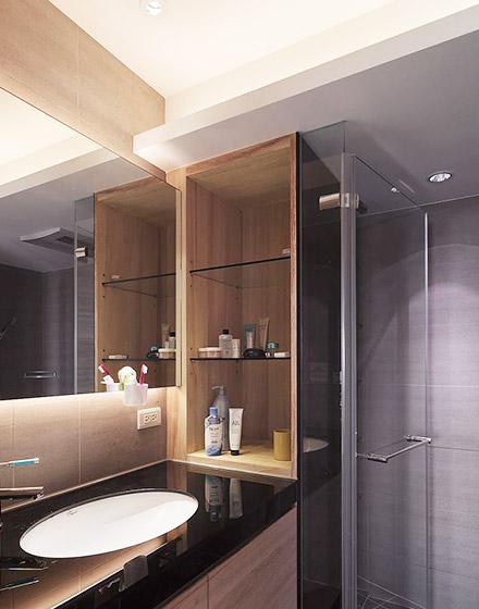 122平三室两厅卫生间装修