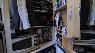 7平米超小户型衣柜橱柜设计