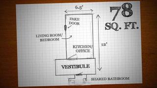 7平米超小户型户型图设计效果图