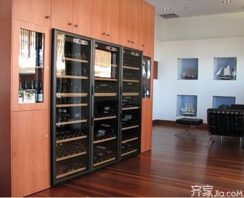 交换空间酒柜设计 提高你的生活品质