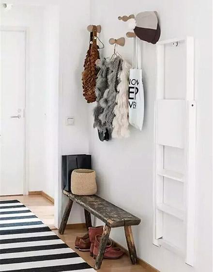 木质玄关换鞋凳设计图