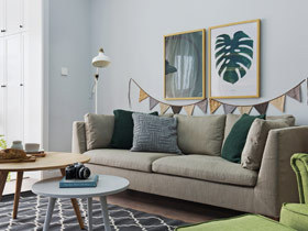 130平北欧装修风格设计 绿野仙踪温暖家