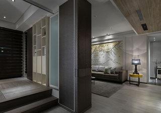 108平米单身公寓地台设计效果图