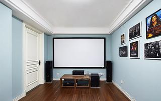 美式风格四居室影音室装修效果图