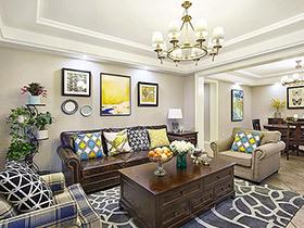 180平美式四居室装修 三代同堂的幸福生活