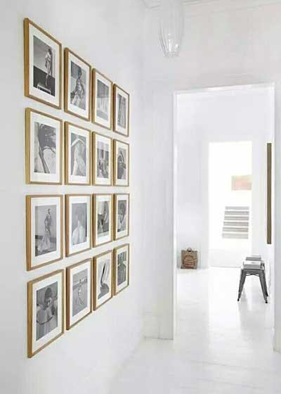 走廊装饰画设计效果图