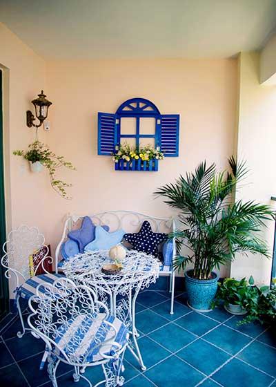地中海室内花园图片