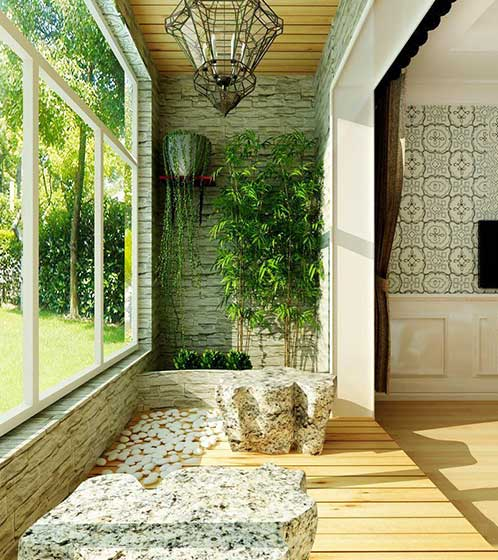 室内花园景观设计实景
