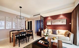 新中式风格客厅沙发图片
