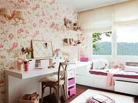 女生想拥有的设计  10款粉色系书房装修实景图
